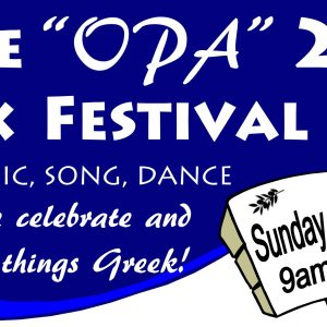"Bribie ""OPA"" Island Greek Festival"