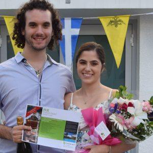 Congratulations George & Assymina!